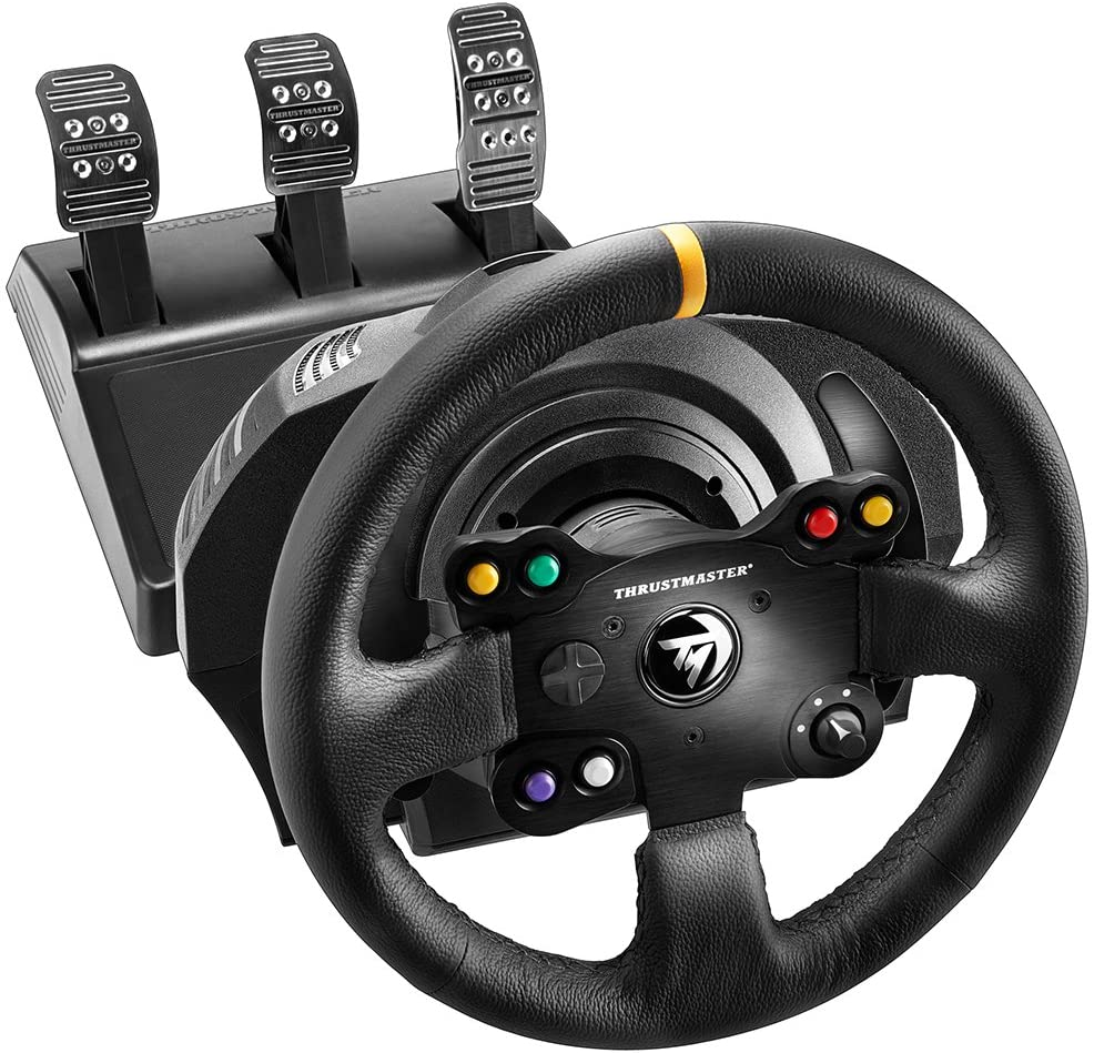 ThrustMaster TX Racing Wheel LEATHER EDITION compatible